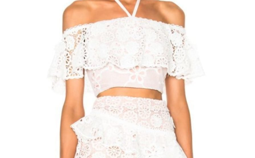 bec53d683 Alexis White Two Piece Set – Skirt & Top size 8 | The Volte