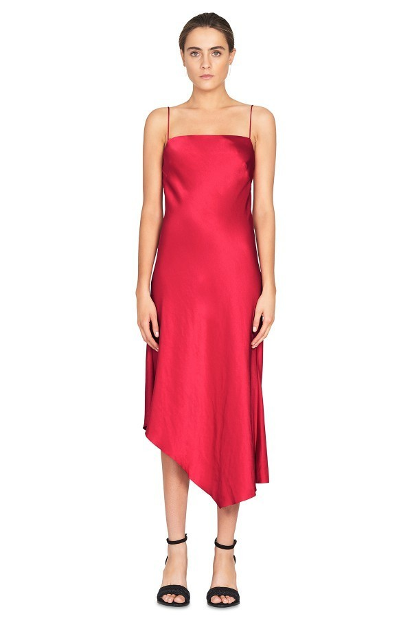 a14852aa4086 Camilla & Marc Bowery Slip Dress Red - Size 6 | The Volte