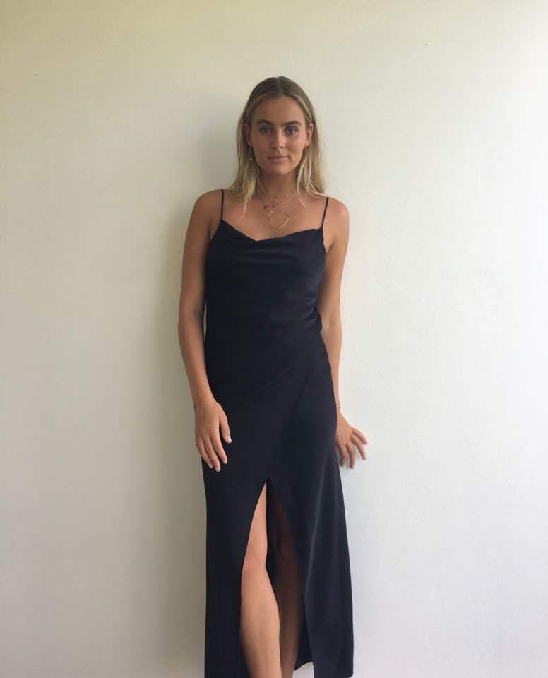 4927121924d3 Camilla & Marc Bowery Slip Dress - Black - Size 12 | The Volte
