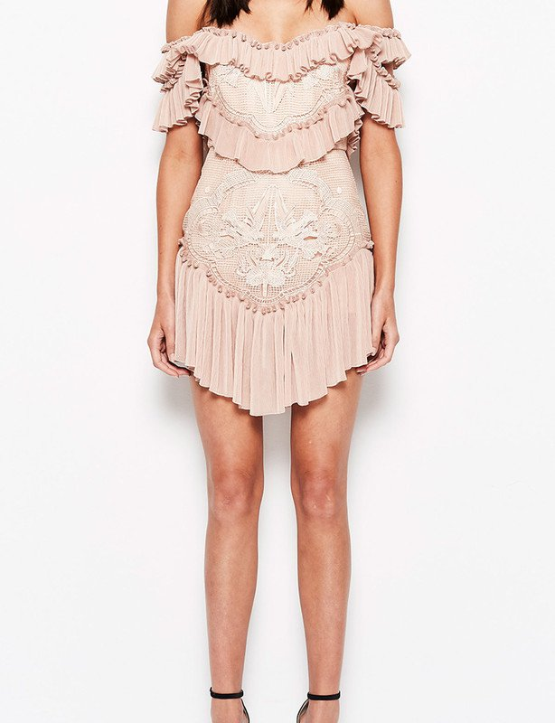ALICE MCCALL LOVEBIRDS DRESS ROSE