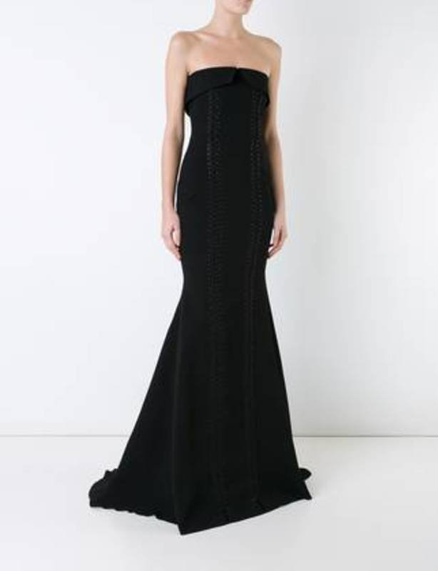 ALEX PERRY Black Payton Gown size 10