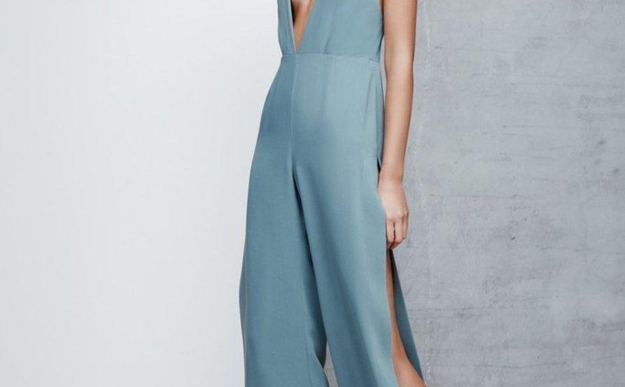 ef18189ae59 Lexi Lydia Blue Jumpsuit Size 12 ...