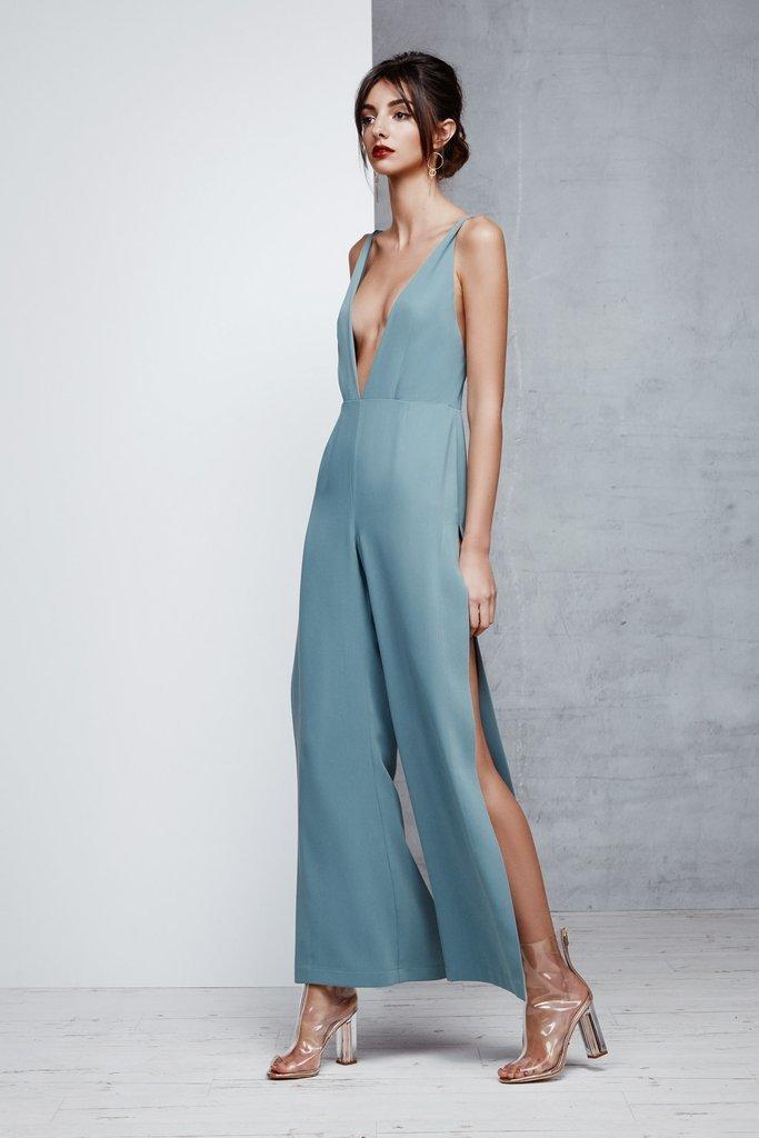 94da9109db3 Lexi Lydia Blue Jumpsuit Size 12