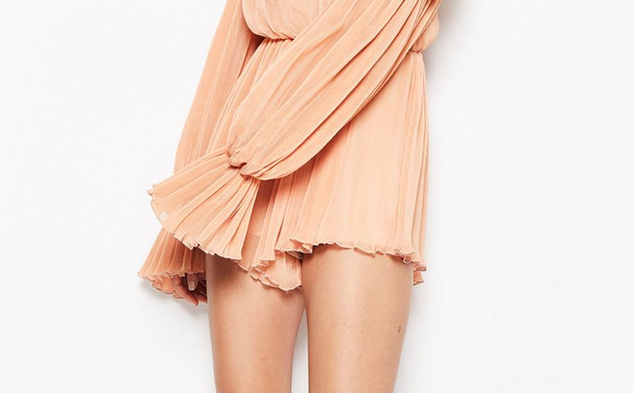 Alice Mccall SHAKE FOR ME PLAYSUIT APRICOT size 6