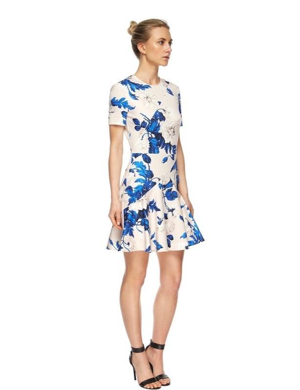 Lover Watercolour mini dress